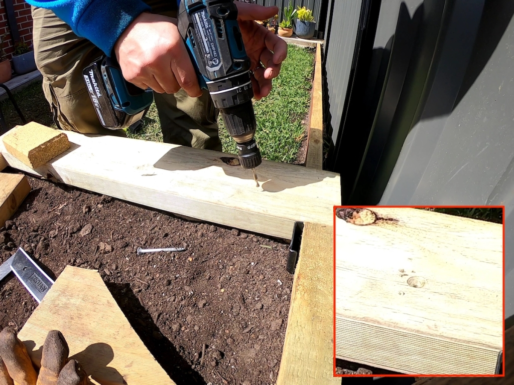 countersink drill flush finish