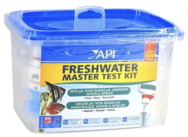 API master test kit aquarium test kit pond test kit water test kit