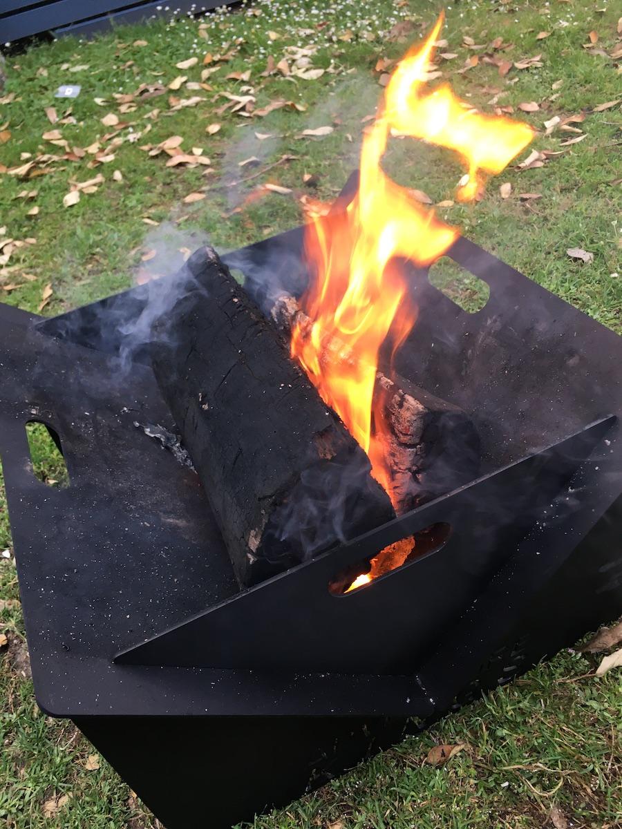 adventure kings portable fire pit