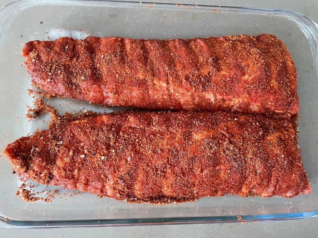 BBQ Pork Ribs Sweet and Spicy BBQ Pork RIbs
