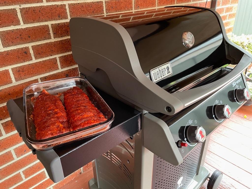 bbq Weber Spirit  Weber BBQ Weber Grill BBQ sauce Best bbq sause best bbq grill BBQ Pork Ribs Sweet and Spicy BBQ Pork RIbs